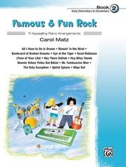 Famous & Fun Rock, Book 2