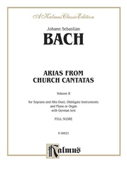 Arias from Church Cantatas, Volume II (4 Duets)