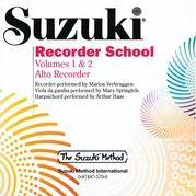 Suzuki Recorder School (Alto Recorder) CD, Volume 1 & 2