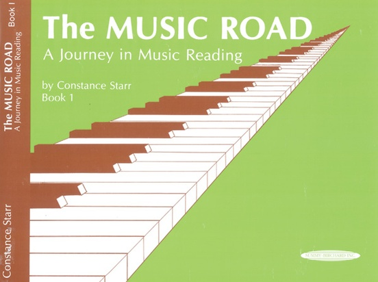 The Music Road: A Journey in Music Reading, Book 1