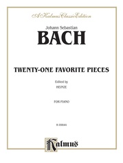 Twenty-one Favorite Pieces