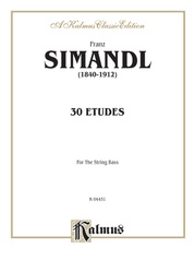 Thirty Etudes for String Bass