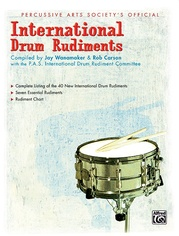 International Drum Rudiments