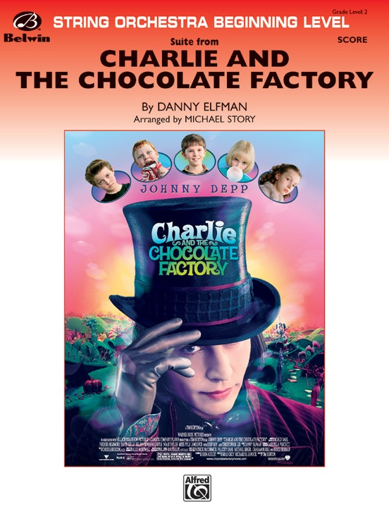 Charlie and the Chocolate Factory, Suite from