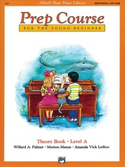 Alfred's Basic Piano Prep Course: Universal Edition Theory Book A