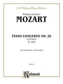 Piano Concerto No. 20 in D Minor, K. 466