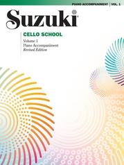 Suzuki Cello School Piano Acc., Volume 1 (Revised)