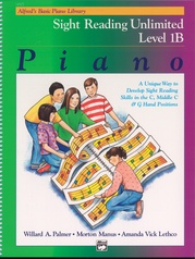 Alfred's Basic Piano Library: Sight Reading Book 1B (Unlimited)