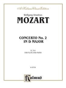 Flute Concerto No. 2 in D Major, K. 314