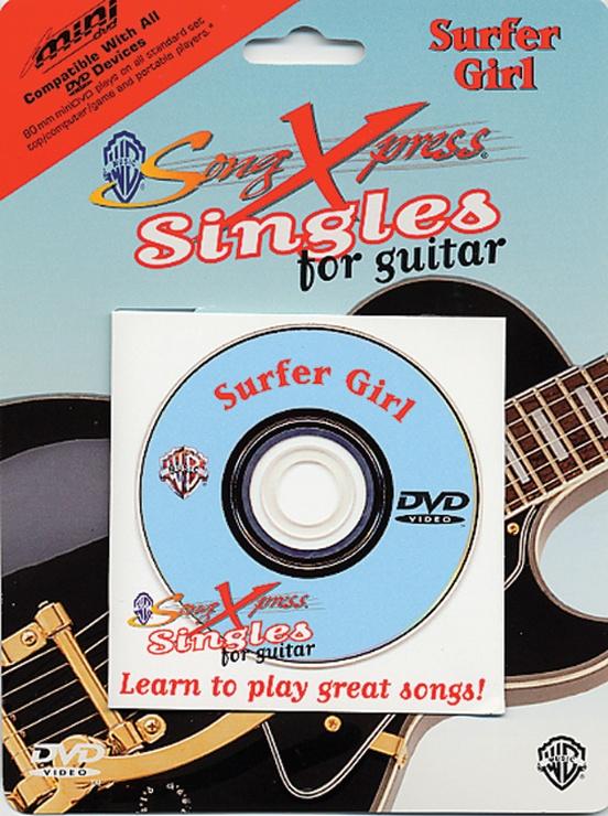 SongXpress® Singles for Guitar: Surfer Girl