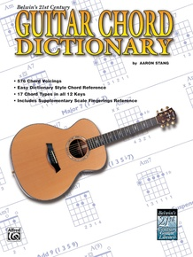 21st Century Guitar Chord Dictionary