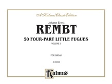 50 Four-Part Little Fugues, Volume I