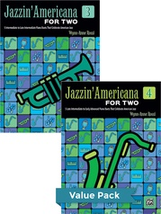 Jazzin' Americana for Two Books 3-4 (Value Pack)