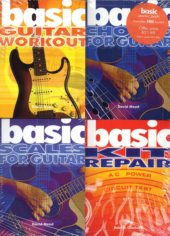 Basics 4-Pack: Guitar Basics