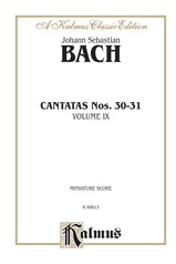 Cantatas No. 30-31, Volume IX