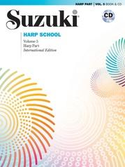 Suzuki Harp School Harp Part & CD, Volume 5