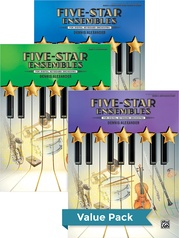 Five-Star Ensembles 1-3 (Value Pack)