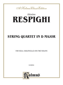 String Quartet in D Major (1907)
