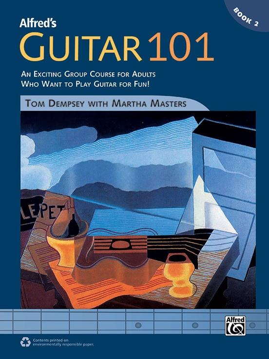 Alfred\'s Guitar 101, Book 2: Guitar Comb Bound Book