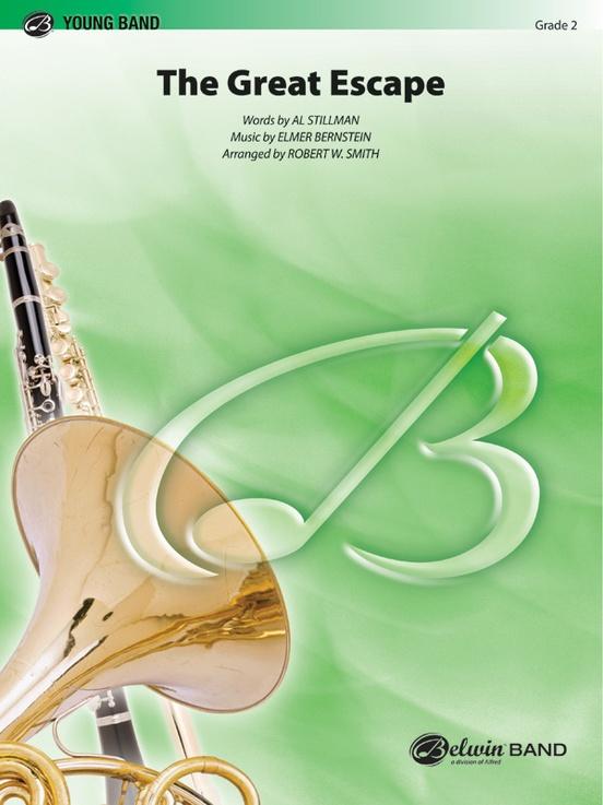 The Great Escape March Concert Band Conductor Score Parts Elmer