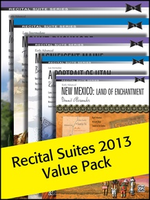 Alfred's Recital Suites Value Pack 2013 (Value Pack)