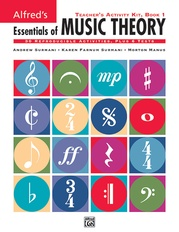 Alfred's Essentials of Music Theory: Teacher's Activity Kit, Book 1
