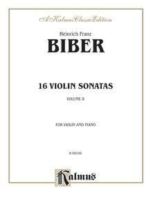 16 Violin Sonatas