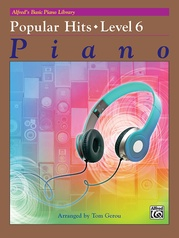 Alfred's Basic Piano Library: Popular Hits Level 6