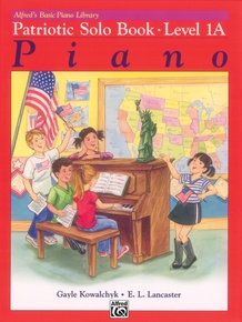 Alfred's Basic Piano Library: Patriotic Solo Book 1A