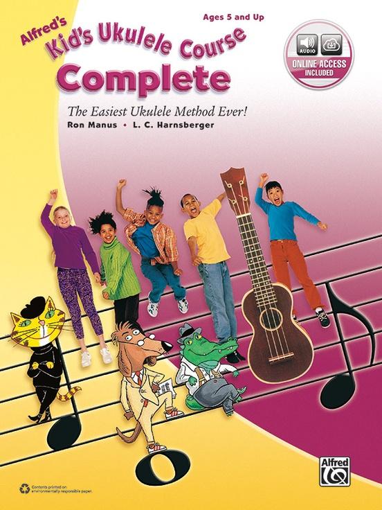 Alfreds Kids Ukulele Course Complete Ukulele Book Online Audio