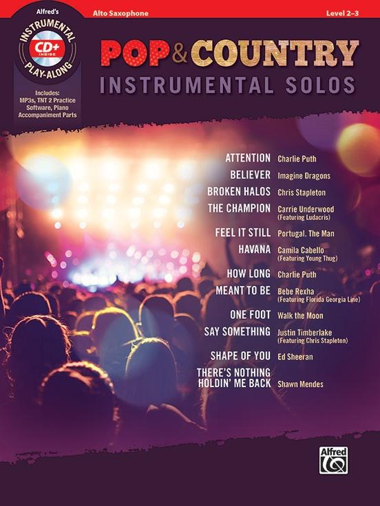 ポップ&カントリー・ソロ曲集(アルトサックス)【Pop & Country Instrumental Solos】