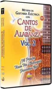 Método con Cantos de Alabanza: Guitarra Eléctrica Vol. 2