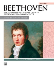 Beethoven: Selected Intermediate to Early Advanced Piano Sonata Movements, Volume 1