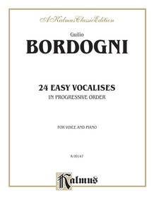 Twenty-Four Easy Vocalises in Progressive Order