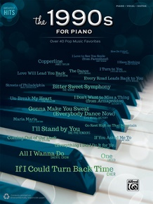 Greatest Hits: The 1990s for Piano