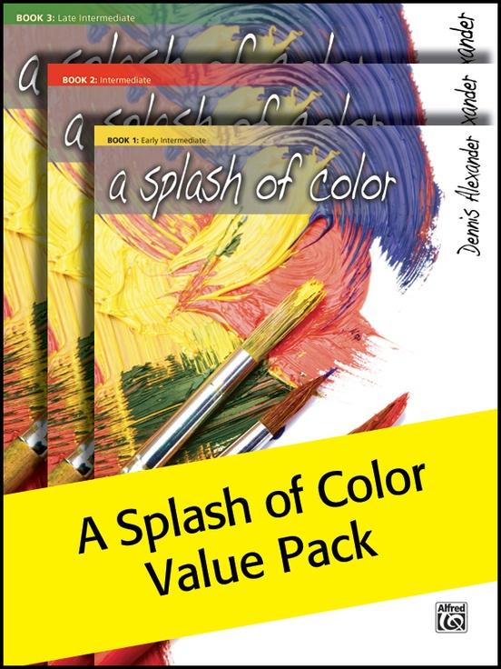 A Splash of Color 1-3 (Value Pack)