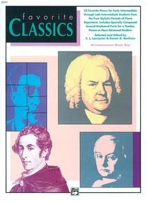 Favorite Classics: Accompaniment, Book 1