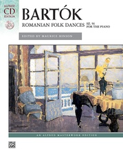 Bartók, Romanian Folk Dances, Sz. 56 for the Piano
