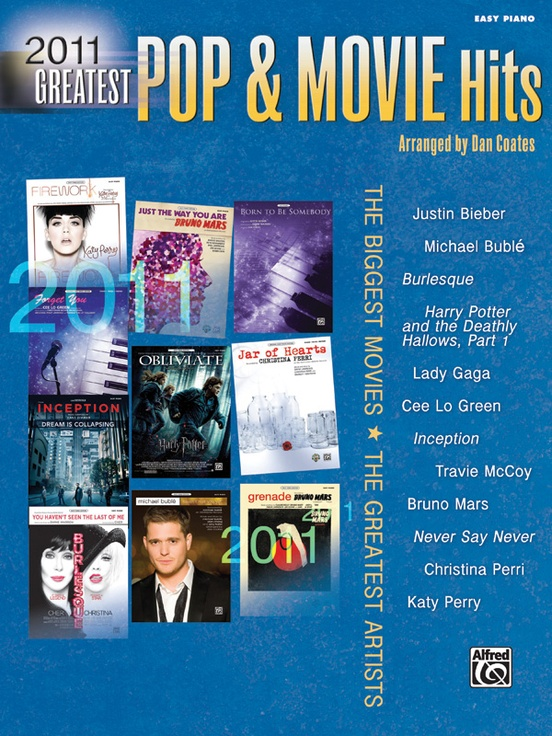 2011 Greatest Pop & Movie Hits