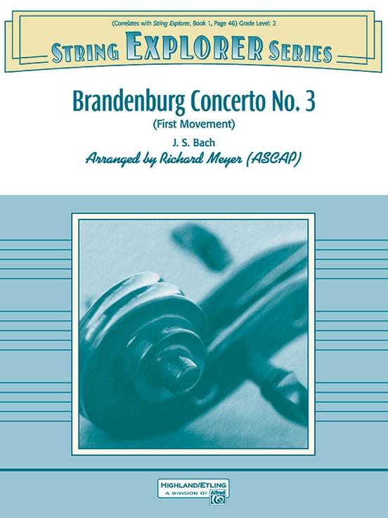 Brandenburg Concerto No  3 (First Movement)