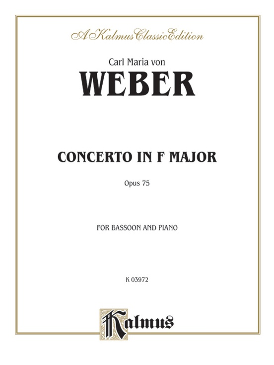 Concerto, Opus 75 in F Major