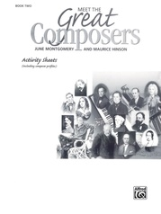 Meet the Great Composers: Activity Sheets, Book 2