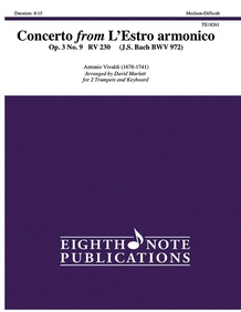 Concerto from <i>L'Estro armonico, Op. 3, No. 9</i>