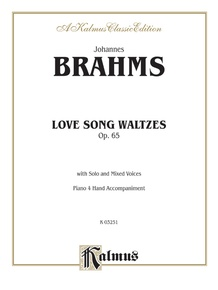 Love Song Waltzes, Opus 65