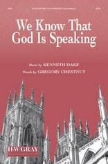 We Know That God Is Speaking