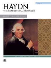 Haydn, The Complete Piano Sonatas, Volume 3