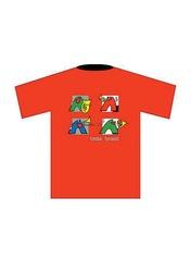 Taste Brass! T-Shirt: Red (Medium)