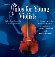 Solos for Young Violists CD, Volume 1