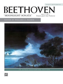 Beethoven, Moonlight Sonata, Opus 27, No. 2 (First Movement)
