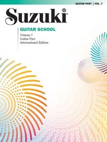 Suzuki Guitar School Guitar Part, Volume 7